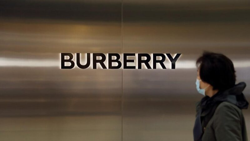 Asked about Xinjiang, Burberry says pleased with China performance