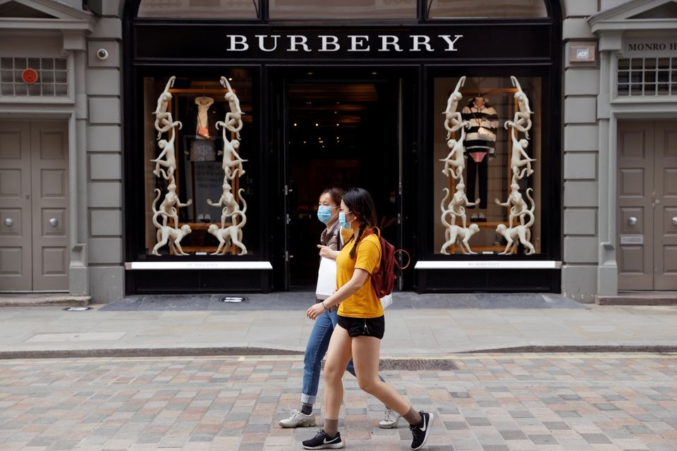 Burberry's cautious margin outlook takes shine off sales recovery