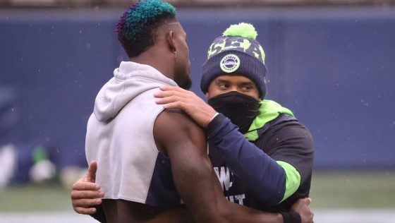 DK Metcalf didn't get into the Russell Wilson drama this offseason